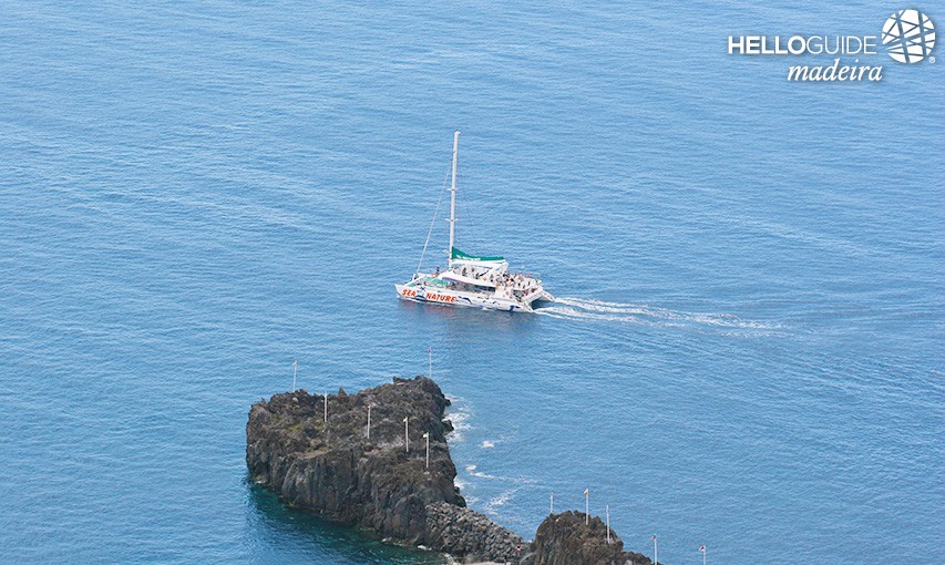 Leisure trip at sea Madeira