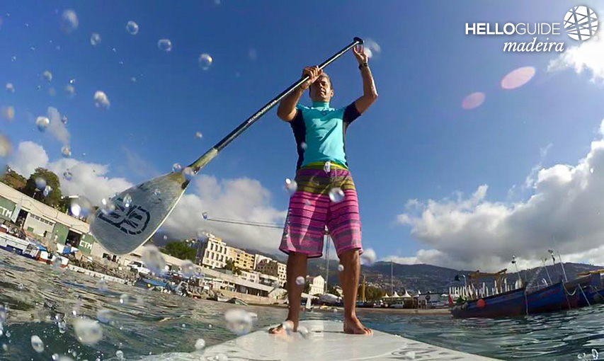 Stand Up Paddle in Madeira