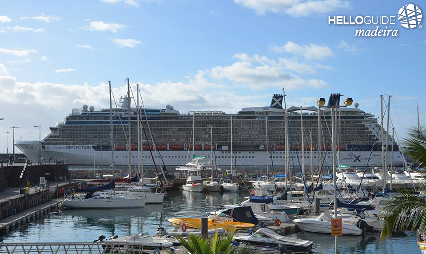Celebrity Reflection a Funchal