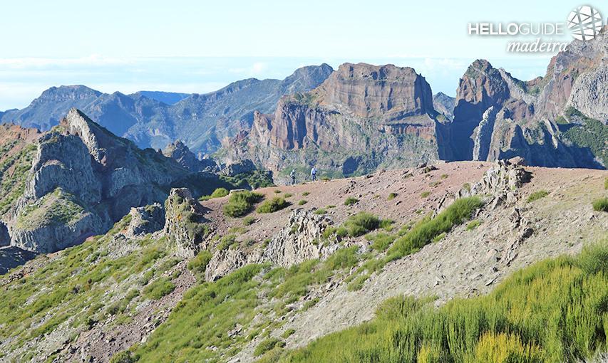 Take a walk to the Pico do Areeiro