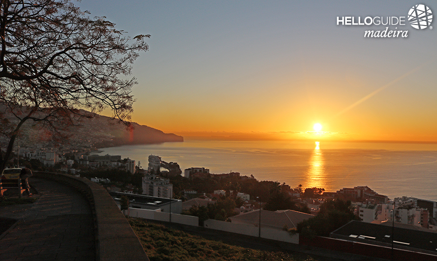 Sunrise in Funchal