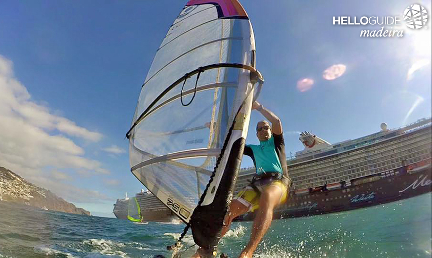 Live the thrill of windsurfing