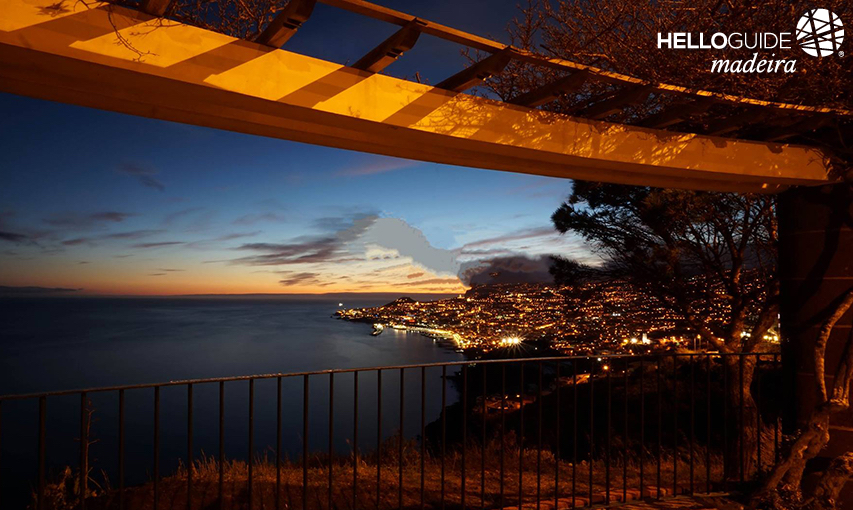 Night view to Funchal