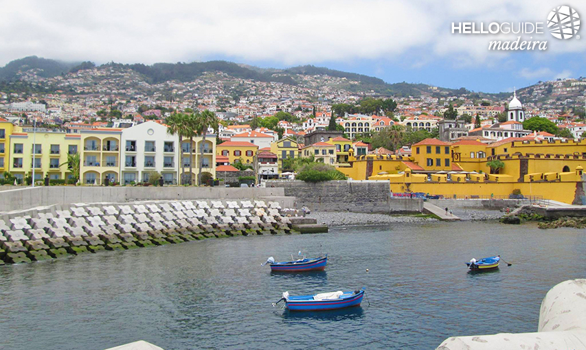 The colors of Funchal