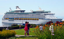 Cruise ships on Madeira Island