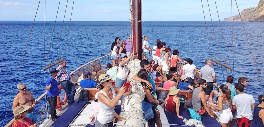 promenade bateau funchal