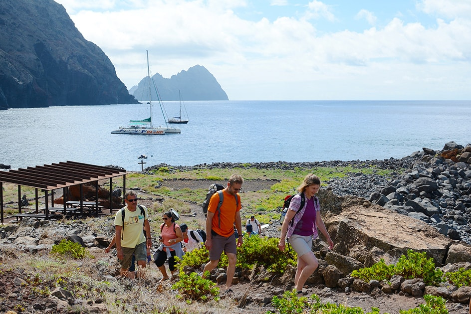 Make an all day outing to Desert Islands, Madeira
