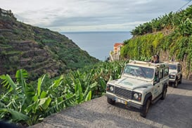 Jeep Safari Madeira, Funchal tour to South Coast